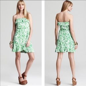 Lilly Pulitzer Flor Strapless Dress Light My Fire